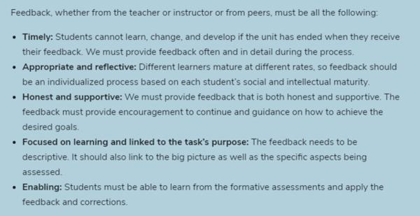 feedback best practices