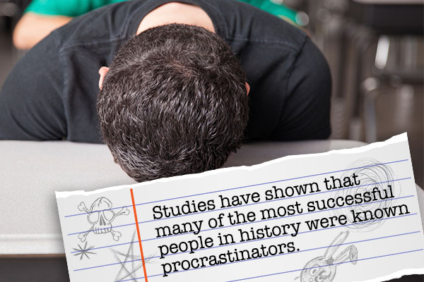 homework-excuses-scribble-procrastinate